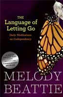 The Language of Letting Go is a day to day book that features passages to help the reader reflect and meditate.